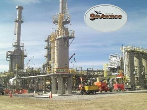 Gas processing plant pulled from community