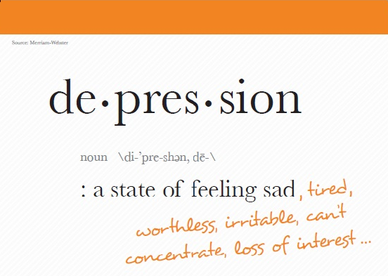 Support Adding Definition of Major Depressive Disorder in Dictionaries