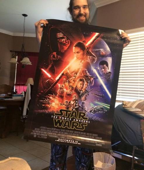 Help Terminal Cancer Patient to Watch Star Wars: The Force Awakens