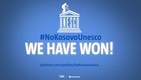 NO Kosovo in Unesco