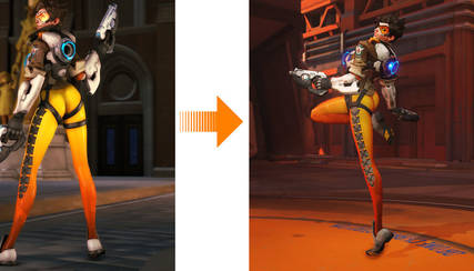 Petition Bring back tracer's Butt Pose in OverWatch