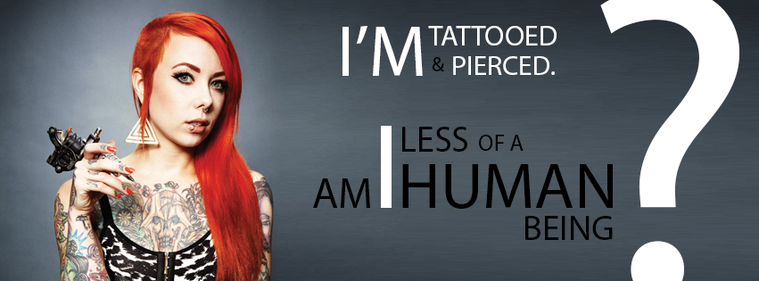petition end discrimination against tattoos and piercings
