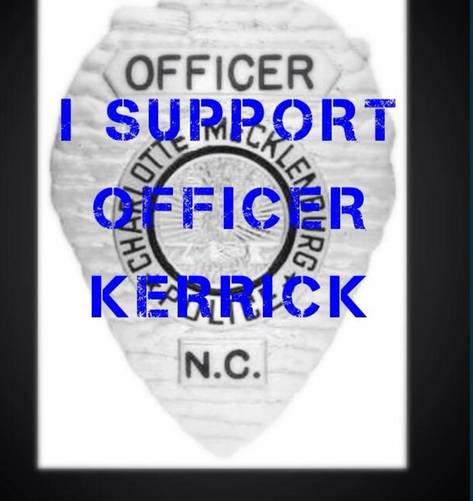 I Support Officer Kerrick