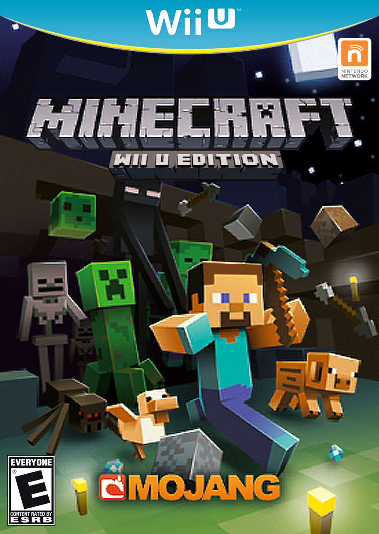 Out For Wii U Games : Petition minecraft for nintendo wii u