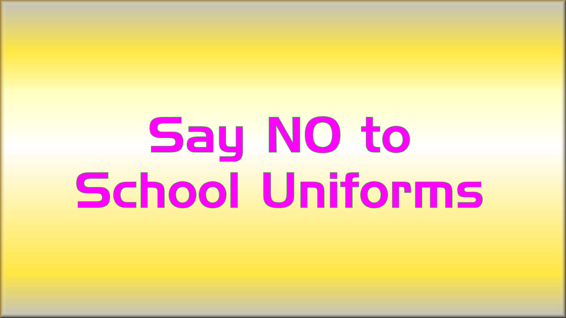 pros and cons for school uniforms One of the hottest debates going around lately is the matter of school uniforms many schools require students to wear a mandated outfit to school each and.