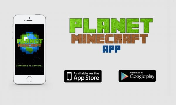 Petition Planet Minecraft iPhone and Android Apps!
