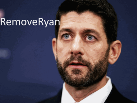 Remove Paul Ryan as the RNC Chairperson at the convention