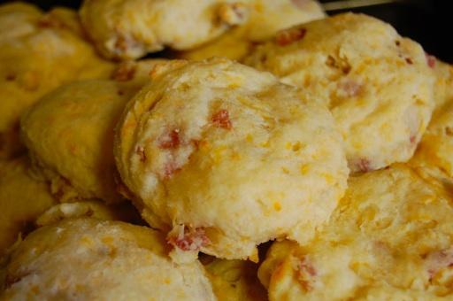 ... demand the return of the delicious flaky ham and cheese biscuit