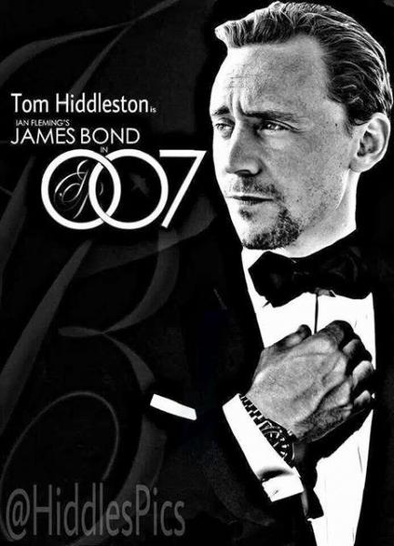 Petition Tom Hiddleston for Bond