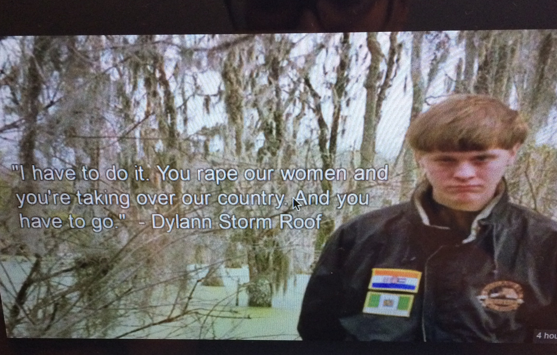 Petition Charge And Try Dylann Storm Roof As A Domestic