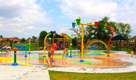 Community splash park in the works