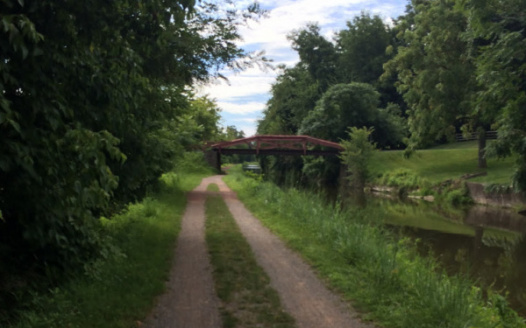 Interested in a safe and convenient access to the Delaware Canal Towpath?