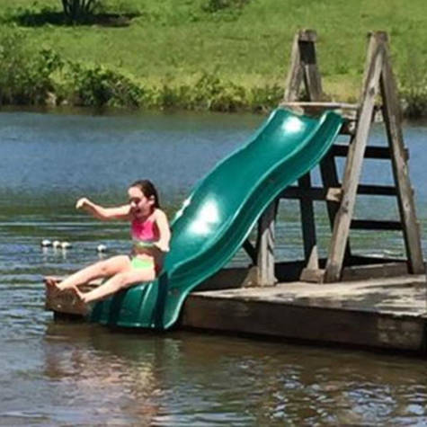 Add a Slide to Mirror Lake