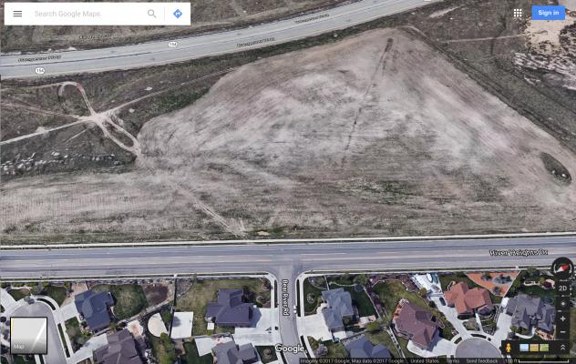 Opposition to the planned development of land west of Jones Meadow Neighborhood