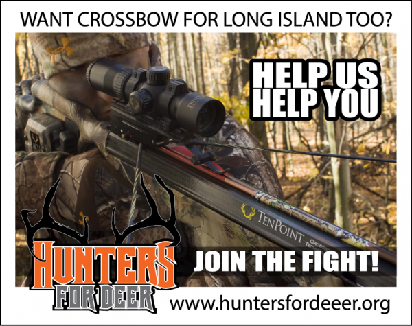 Petition authorize crossbows for hunting in suffolk county for Nysdec fishing regulations