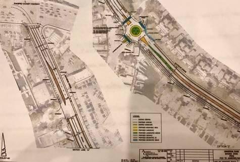 Bayside Drive, Newport Beach - Yes to Plan 2 Street Improvement