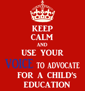 how to become an advocate for education