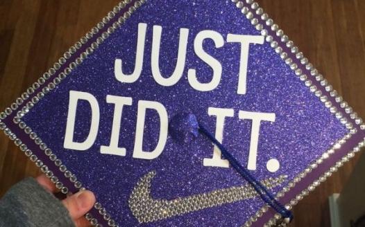 Petition Burke High School Graduation Cap Decor