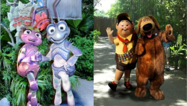 Petition save flik and princess atta as permanent characters recently back in 2012 dug and russell have replaced fliks meet greet spot by its tough to be a bug at disneys animal kingdom m4hsunfo