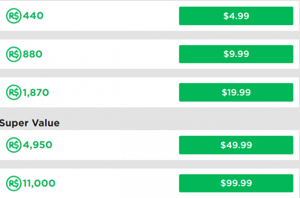 Roblox Prices For Robux Petition Make Roblox Robux Prices Fair Again
