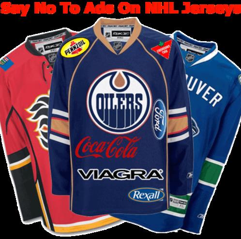 e1c2b687162 Petition No Ads on NHL Jerseys