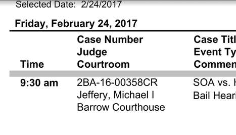 NO BAIL FOR JIMMIE HOUSTON
