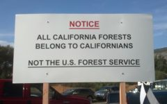 End the closure of Sierra National Forest in Fresno County, CA
