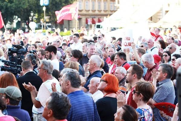 Peticija Nove ljevice protiv preimenovanja Trga Maršala Tita
