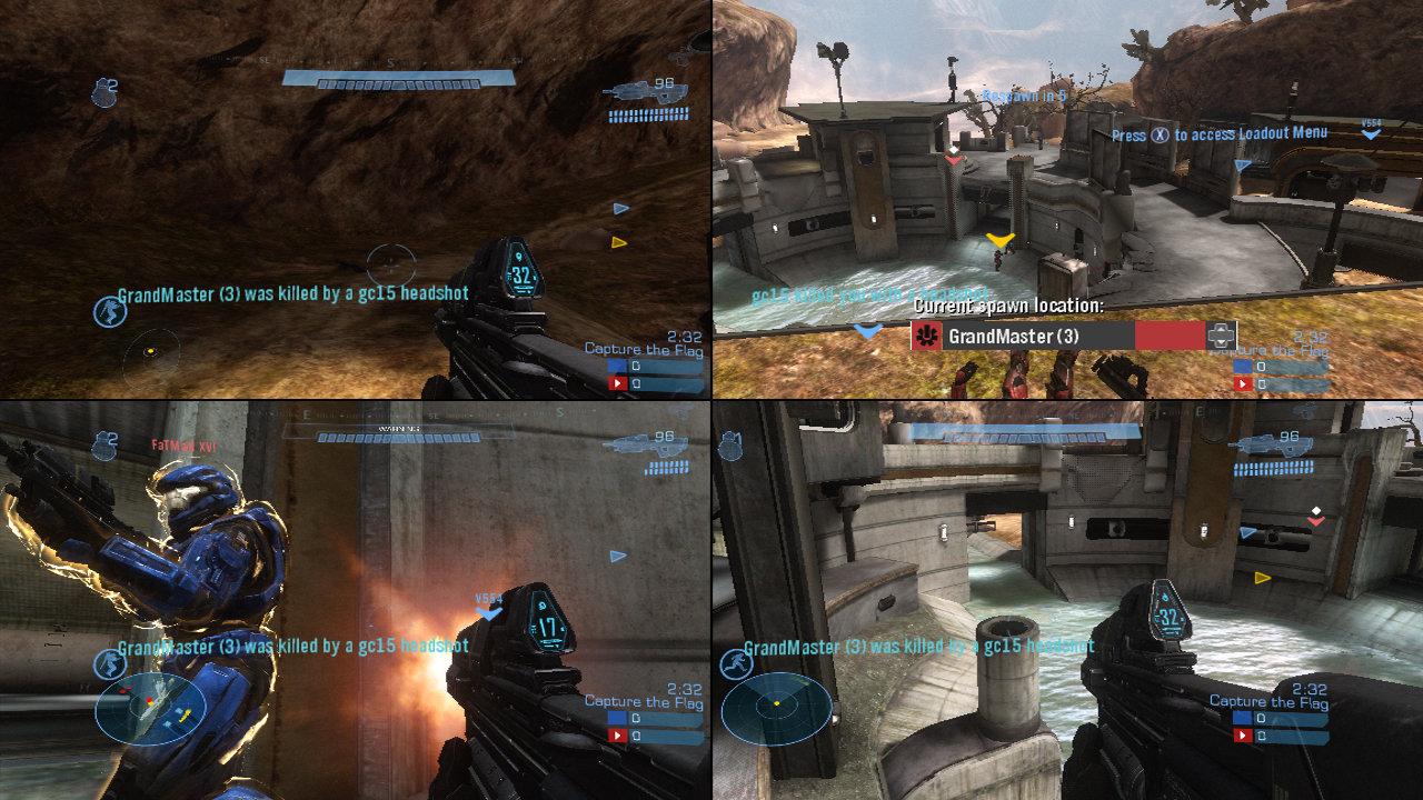 halo 5 split screen matchmaking