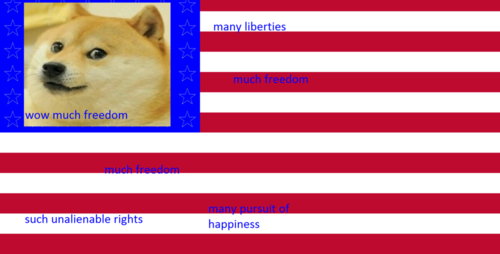 T5f7aER1lE5Wol7odw7d_48 star+U_S_+flag petition petition to change american flag to meme themed
