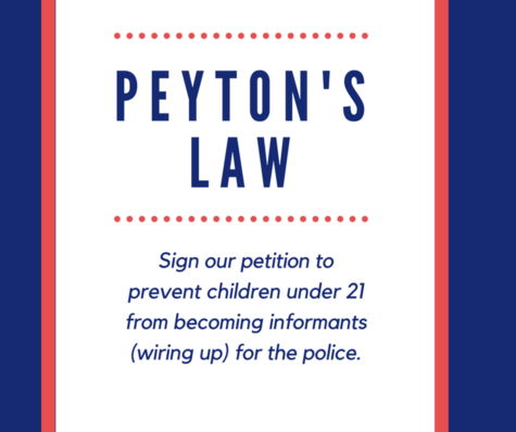 Petition Peyton's Law: Prevent Underage Informants Without
