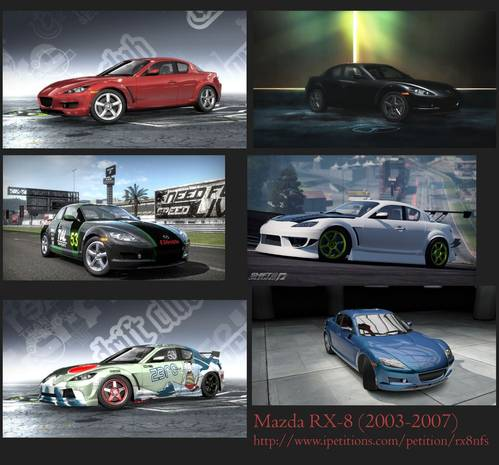 Petition We Need Mazda Rx 8 In Need For Speed 2015