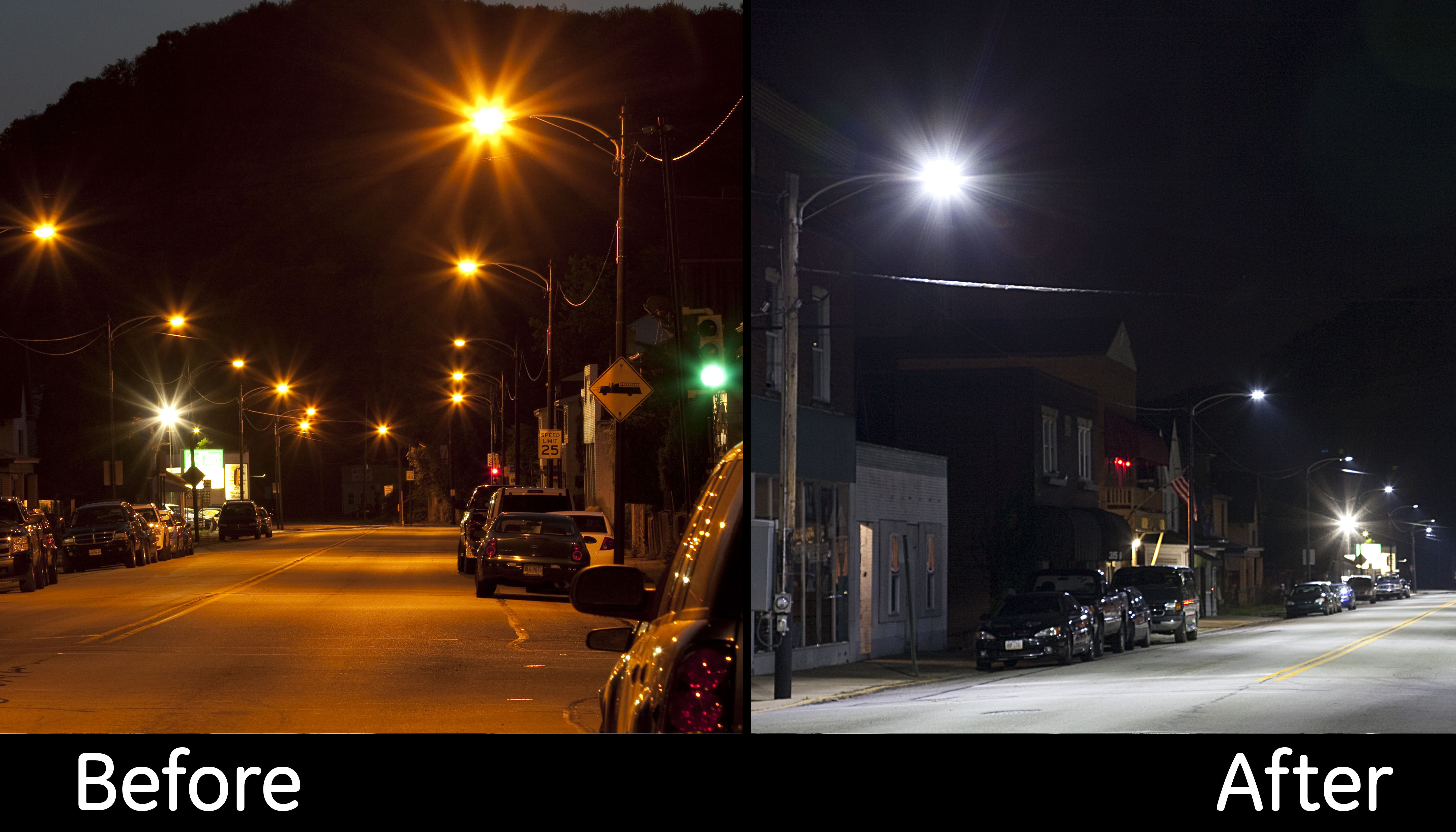 petition stop portland led street light pollution
