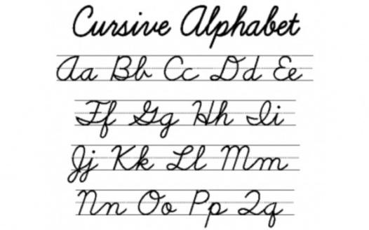 Petition Teach our children cursive in school!