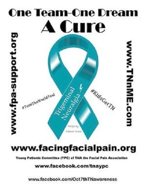 Petition International Trigeminal Neuralgia Awareness Day October 7th!