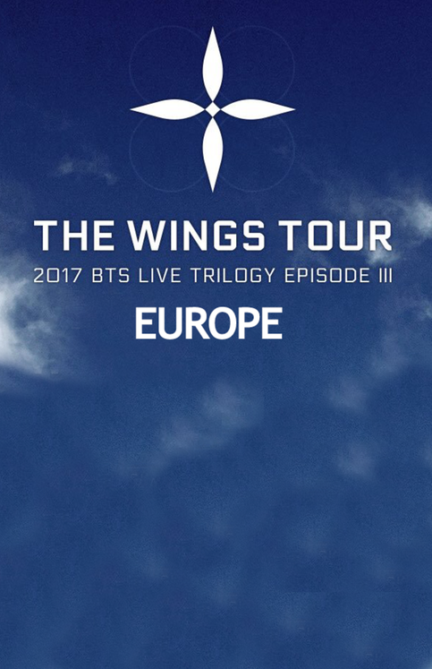 WE WANT BTS WINGS TOUR 2017  IN EUROPE