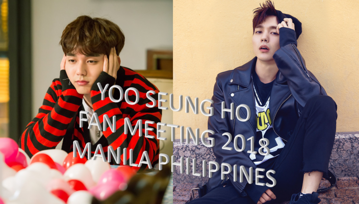 Yoo Seung Ho Manila Philippines Fan Meeting